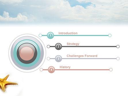 Starfish PowerPoint Template, Slide 3, 03456, Nature & Environment — PoweredTemplate.com