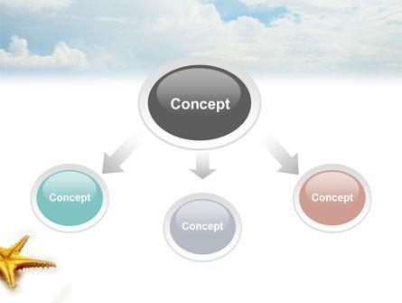 Starfish PowerPoint Template, Slide 4, 03456, Nature & Environment — PoweredTemplate.com