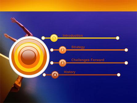 Diving Sport PowerPoint Template, Slide 3, 03460, Sports — PoweredTemplate.com