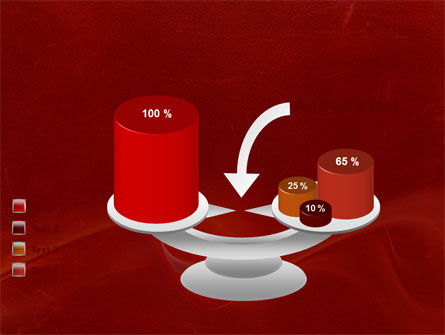 Red Texture PowerPoint Template Slide 10