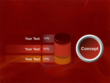 Red Texture PowerPoint Template Slide 11