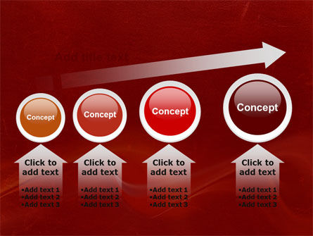 Red Texture PowerPoint Template Slide 13