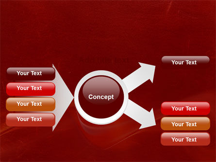 Red Texture PowerPoint Template Slide 14
