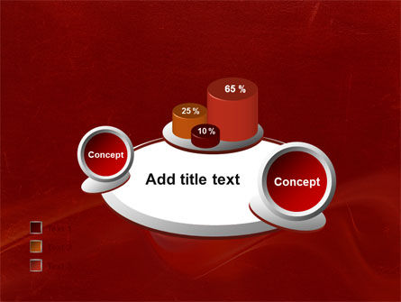 Red Texture PowerPoint Template Slide 16