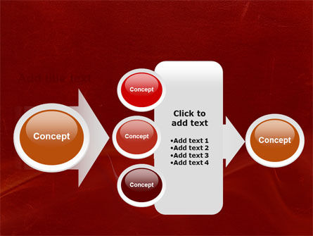 Red Texture PowerPoint Template Slide 17