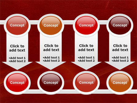 Red Texture PowerPoint Template Slide 18