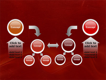 Red Texture PowerPoint Template Slide 19
