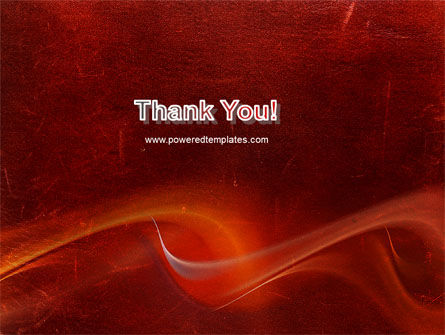 Red Texture PowerPoint Template Slide 20