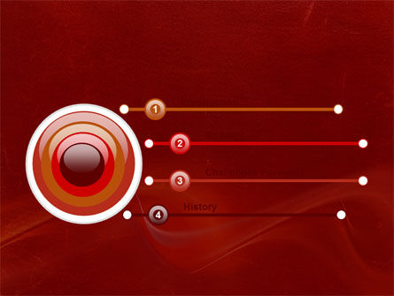 Red Texture PowerPoint Template Slide 3