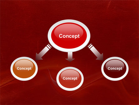 Red Texture PowerPoint Template, Slide 4, 03461, Abstract/Textures — PoweredTemplate.com