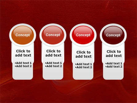 Red Texture PowerPoint Template Slide 5
