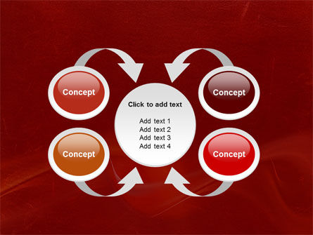Red Texture PowerPoint Template Slide 6