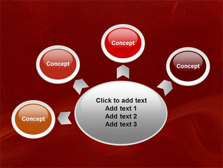 Red Texture PowerPoint Template Slide 7