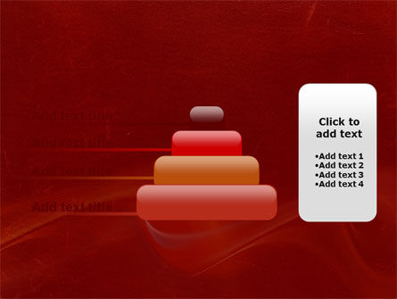 Red Texture PowerPoint Template Slide 8