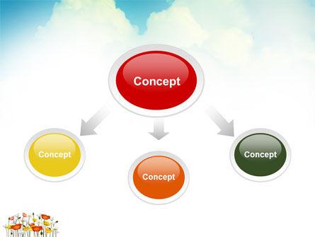 Lake PowerPoint Template, Slide 4, 03462, Nature & Environment — PoweredTemplate.com