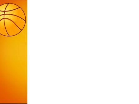 Basketball Field PowerPoint Template, Slide 3, 03463, Sports — PoweredTemplate.com