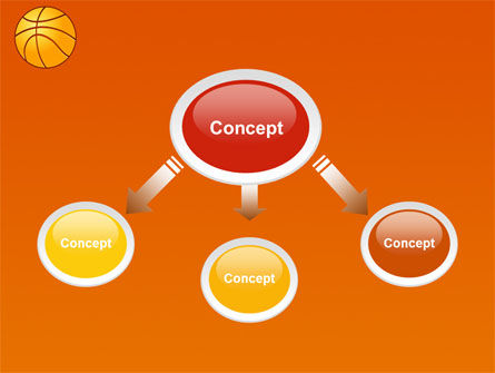 Basketball Field PowerPoint Template Slide 4