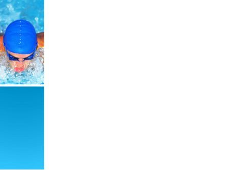 Swimming Stroke PowerPoint Template, Slide 3, 03464, Sports — PoweredTemplate.com