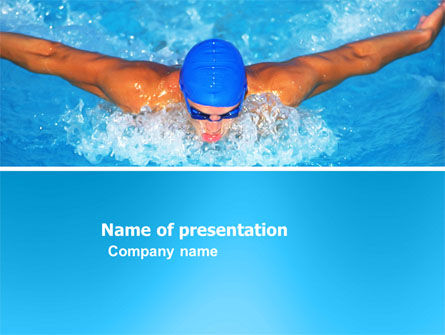 Swimming Stroke PowerPoint Template