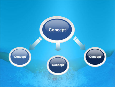 Swimming Stroke PowerPoint Template Slide 4