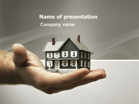 Habitation PowerPoint Template, 03467, Real Estate — PoweredTemplate.com
