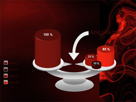 Red Curls PowerPoint Template Slide 10