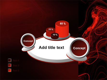Red Curls PowerPoint Template Slide 16