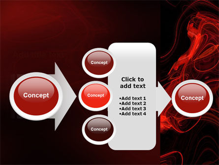 Red Curls PowerPoint Template Slide 17