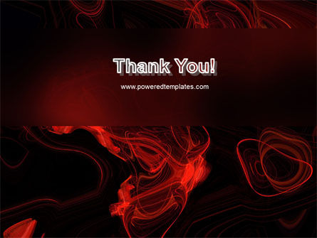Red Curls PowerPoint Template Slide 20