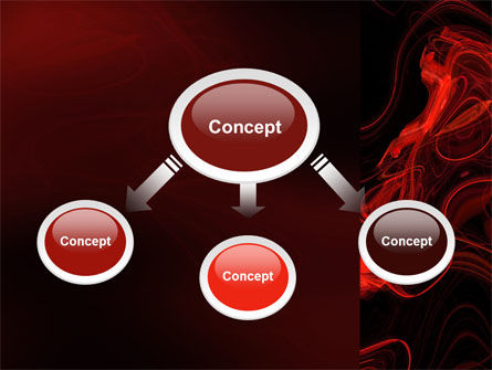 Red Curls PowerPoint Template Slide 4