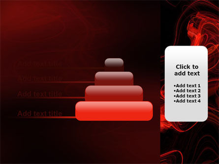 Red Curls PowerPoint Template Slide 8