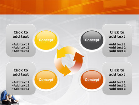 Computer Literacy PowerPoint Template Slide 9