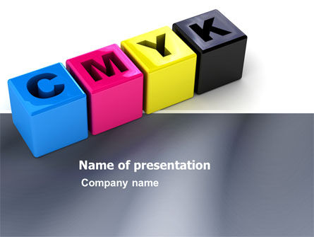Careers/Industry: CMYK PowerPoint Template #03474