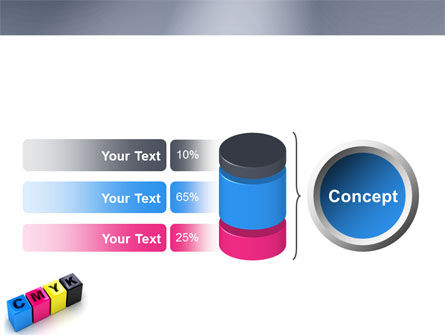 CMYK PowerPoint Template Slide 11