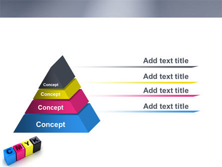 CMYK PowerPoint Template Slide 12