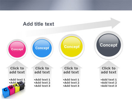 CMYK PowerPoint Template Slide 13