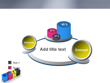 CMYK PowerPoint Template Slide 16