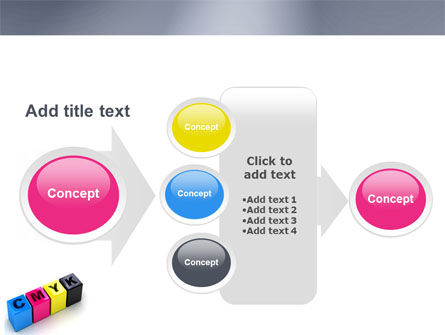 CMYK PowerPoint Template Slide 17