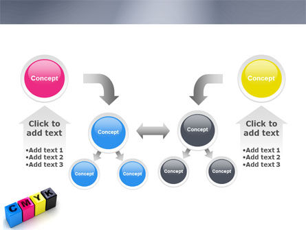 CMYK PowerPoint Template Slide 19