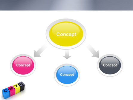 CMYK PowerPoint Template Slide 4