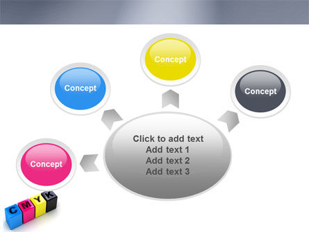 CMYK PowerPoint Template Slide 7