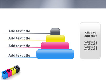 CMYK PowerPoint Template Slide 8