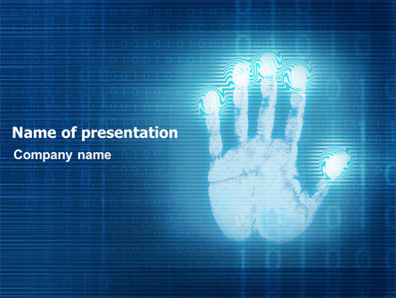 Technology and Science: Identity PowerPoint Template #03478