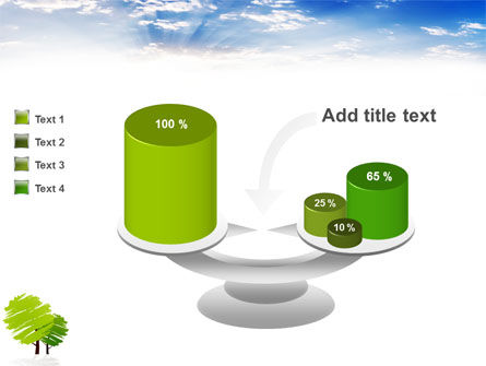 Greenery PowerPoint Template Slide 10