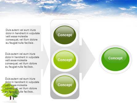Greenery PowerPoint Template Slide 11