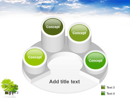 Greenery PowerPoint Template Slide 12
