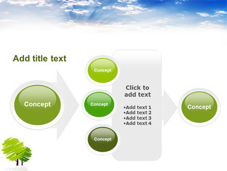 Greenery PowerPoint Template Slide 17