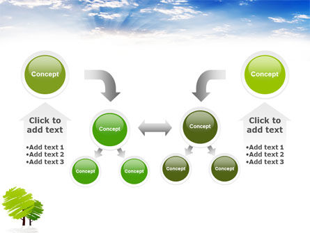 Greenery PowerPoint Template Slide 19