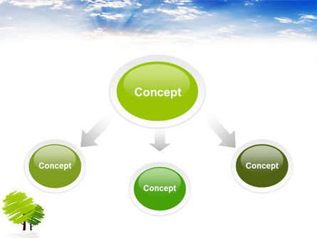 Greenery PowerPoint Template, Slide 4, 03479, Nature & Environment — PoweredTemplate.com
