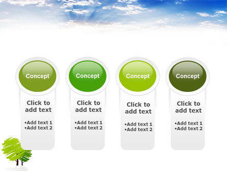 Greenery PowerPoint Template Slide 5